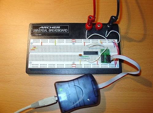 Flashing ATtiny2313