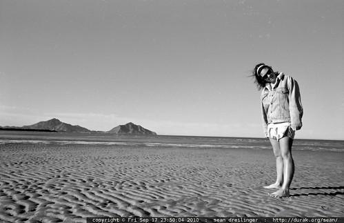 laura pappas on the beach in san felipe, baja california, mexico - scan_1990-04_mx-baja-san-felipe-spring-break_0002_edit.8bit