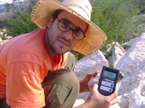 Medição Radioatividade em Granito usado para revestimento na construção civil 2