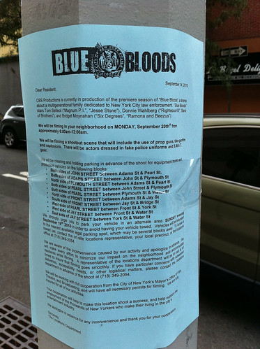 Filming: Blue Bloods