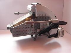 Night Hawk (MorderczyGroszek) Tags: starwars lego space shuttle starship starfighter