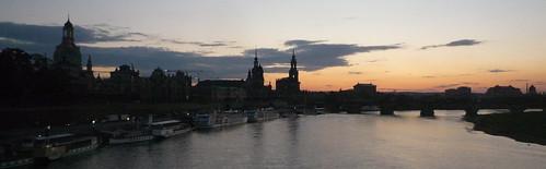 Puesta de Dresde