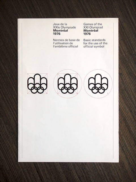 1976 Montreal Olympics Basic Logo Standards