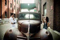 Hannah & Mike Engagement (Victor Shum) Tags: toronto engagement sony distillery a900