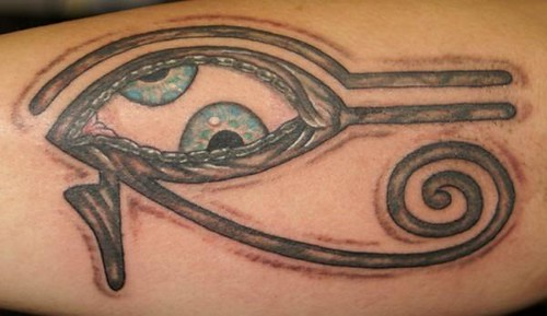 "TOOL ""Eye of Ra"" tattoo by Southside Tattoo & Piercing"