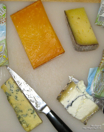 Four delicious cheeses