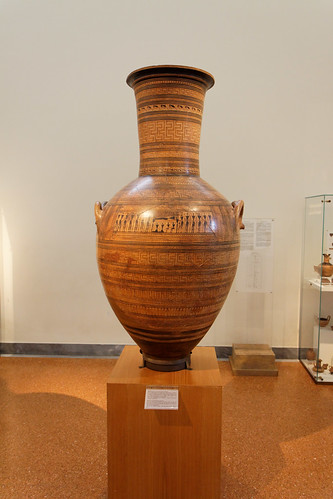 Athens National Archeological Museum -Dipylon amphora