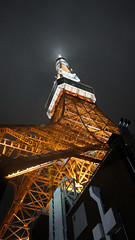 Tokyo Tower (ddsnet) Tags: new travel japan night tokyo shot nightshot sony experience  to nippon    nocturne nihon backpackers night nex   tky   shot mirrorless night colorphotoaward  shot  emount  nex5 newemountexperience