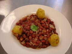 Kidney Bean Stew & Mofungo