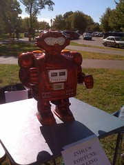 Robot at the 5K