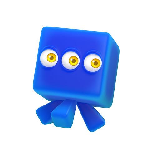 Sonic Colours - Blue Wisp