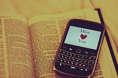 ( ~ ) Tags: love blackberry miss