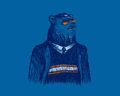 Da Bears! (David Schwen) Tags: chicago mike shirt illinois bears tshirt da threadless chicagobears chicagoist ditka dabears sportcenter dschwen