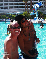 Dennis Luciani and Michael Bortone at Las Vegas Bash 2010