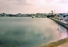Huntington Harbour, 1963 (Orange County Archives) Tags: california history historical southerncalifornia orangecounty orangecountyarchives orangecountyhistory