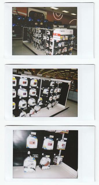Polaroid 300 @ Target Stores USA