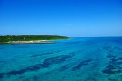 Kurima Blue (dadadayo) Tags: blue sea miyako      kurima kurimabridge