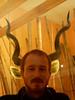 Pan face (Mr-Pan) Tags: portrait playing game redhead horn mrpan