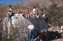 December 1989 Coyote Canyon (12) (BSATroop666) Tags: desert backpacking scouts scouting bsa coyotecanyon tanle boyscoutsofamerica troop666 december1989 willblakely