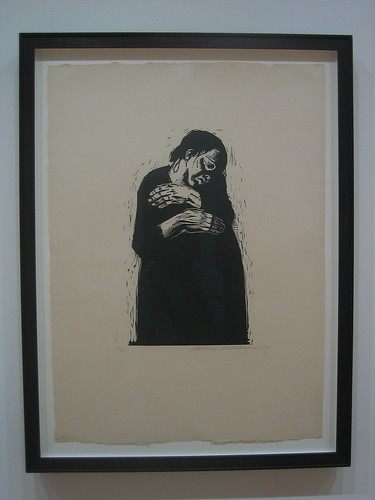 The Widow I (Die Witwe I) (plate 4) from War (Krieg), (1921-22,  published 1923), Käthe Kollwitz _7510