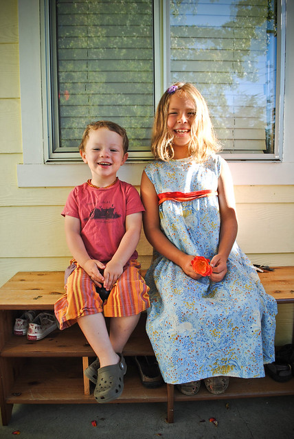 september :: school sewing {first day dress}