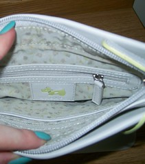 Radley Ivory Bletchley Park Crossbody bag inside