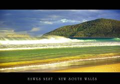 Hawks Nest - EXPLORE #297 (Eye_of_my_pentax IS BACK) Tags: ocean sea mountain beach water sand waves pentax hawksnest hawksnestbeach justpentax