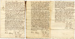 Perth executioner contract,1736 (P&KC Archive) Tags: scotland crime autograph perth lawandorder jobdescription historicaldocument socechistory workingarchive