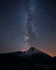 Southbound Milky Way (Gary Randall) Tags: night oregon stars mthood astronomy parkdale mounthood hoodriver milkyway cloudcapinn garyrandall dsc27132