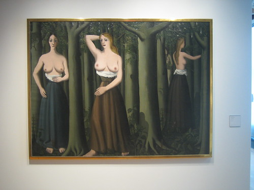 The Forest, 1935, Paul Delvaux _7740