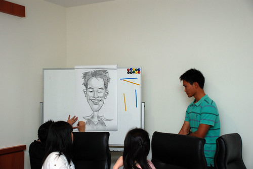 Caricature Workshop for Spire Research & Consulting - 40