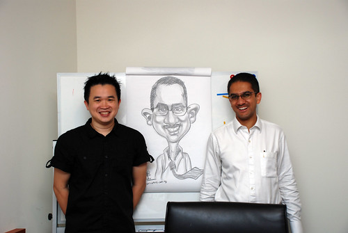 Caricature Workshop for Spire Research & Consulting - 44