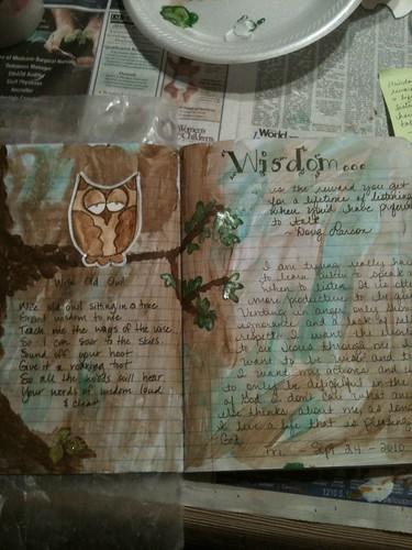 Art journal - 24 Sep