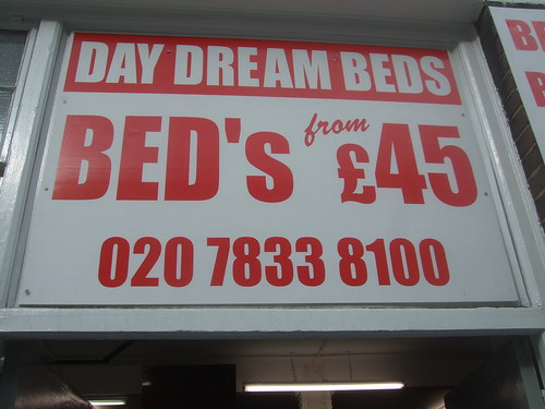 Bed's from £45