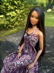 040 (Alrunia) Tags: nature garden outdoors doll handmade barbie fashiondoll caligirl 16thscale playscale