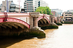 Blackfriars Bridge (L_) Tags: bridge thames river 19thcentury 1800s victorian blackfriars 1860s riverthames blackfriarsbridge nineteenthcentury cubitt thomascubitt