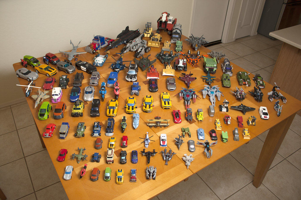 My Transformers Revenge of the Fallen Collection - Alternate modes
