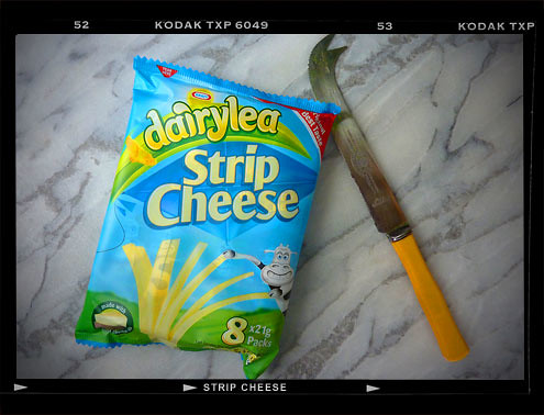 Yuckblog - Dairylea Strip Cheese
