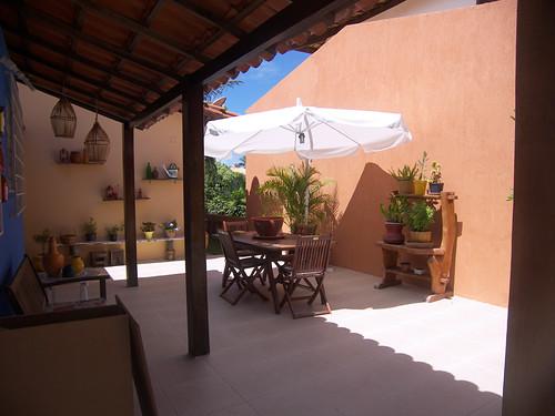 decoração area externa