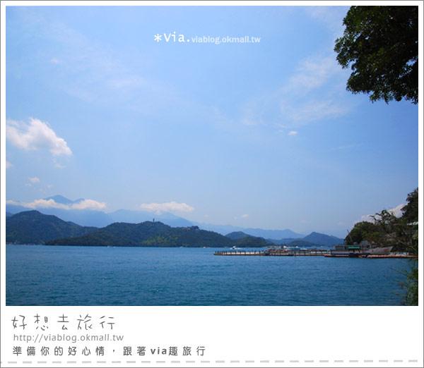 【日月潭一日遊】朝霧碼頭+水社碼頭~愜意遊日月潭3