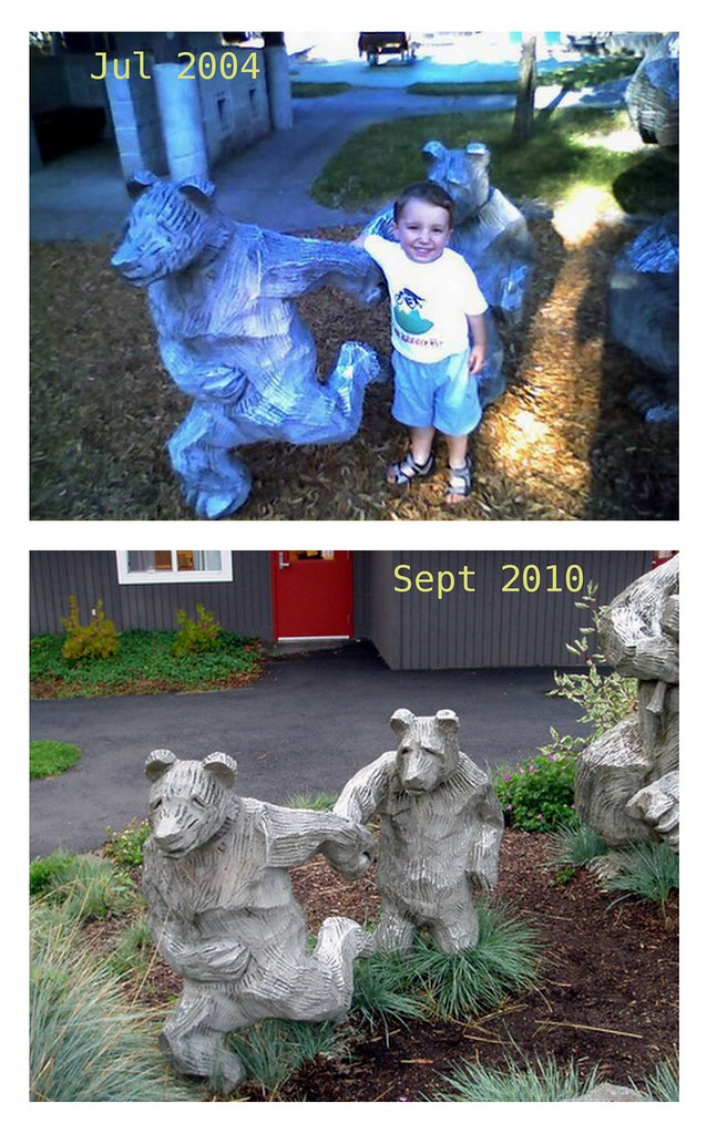Sherwood Forest Bear Statue 2004 - 2010