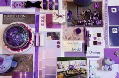 A little bit of Violette (Viva la Violette) Tags: flowers glitter paper purple