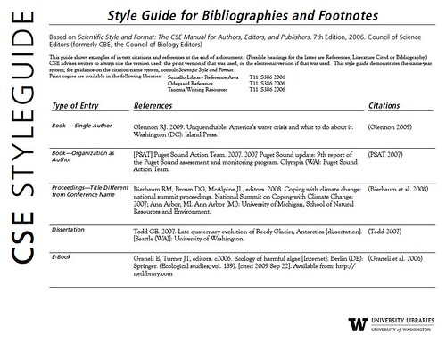 cse research paper format Here is a sample paper using cse style cse (council of science editors) is used primarily in the life sciences and medicinebrief history: in 1957, the national science foundation and the american institute of biological sciences jointly established cbe, council of biology editors.