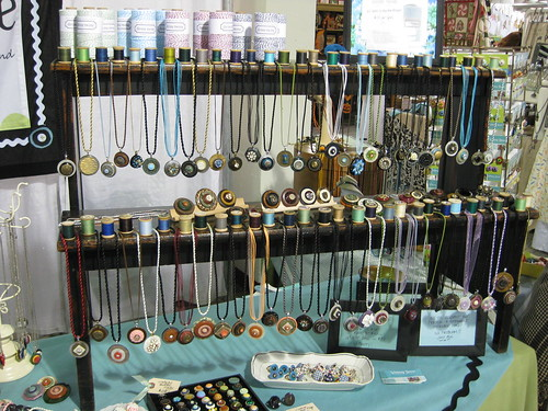 Whimsy House TCC Booth (7) Necklace Display