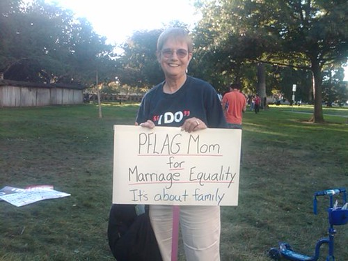PFLAG Mom for Marriage Equality in San Mateo