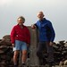 The last summit - John and Anne Nuttall on Hedgehope Hill