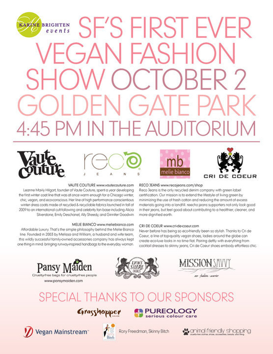veganfashionshow by Nevertrustadame.com