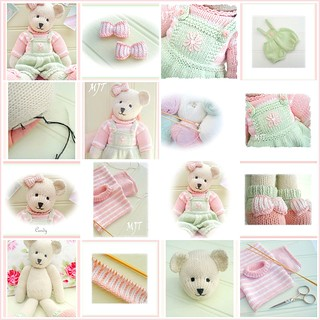 Ravelry Candy Bear Pattern By Susan Hickson