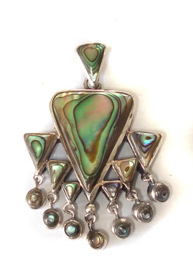 be6c86b65d12d pingente prata triangulos abalone (Paulo Pandolfe Designer) Tags  glamour  arte designer bonito moda