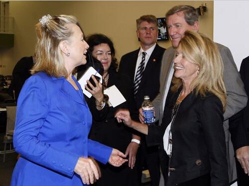 Hillary Clinton Hair Clip 4